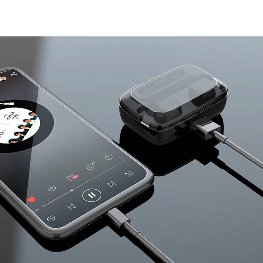 3500mAh LED Bluetooth Earphones