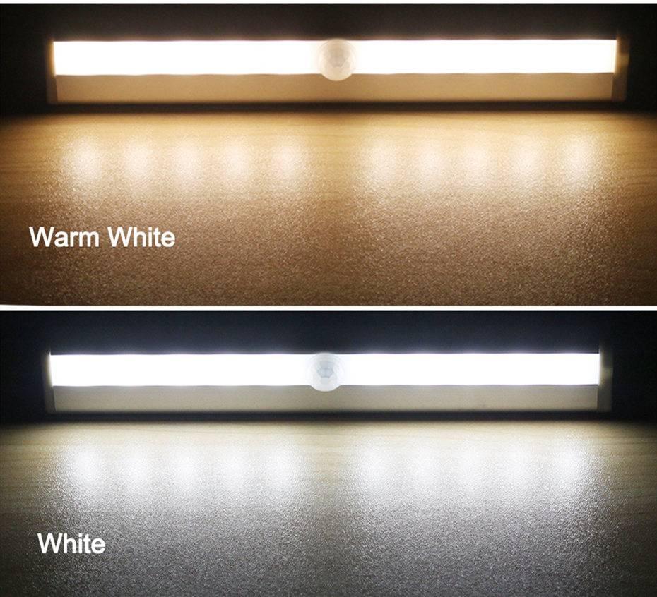 6/10 LEDs PIR LED Motion Sensor Light