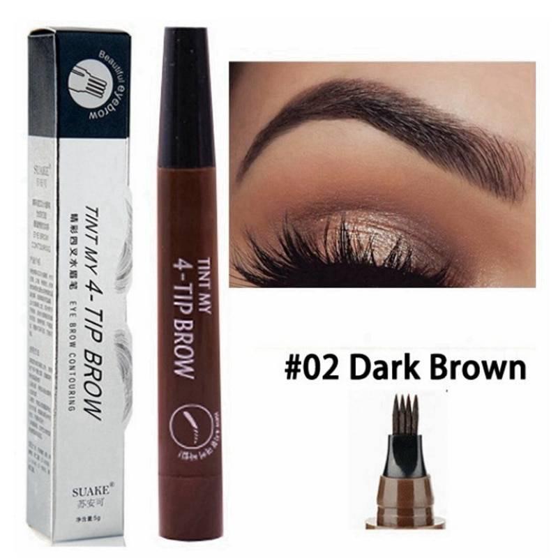 Waterproof Eyebrow Pen Beauty & Health Eyes Makeup Color : 01|02|03|04|05
