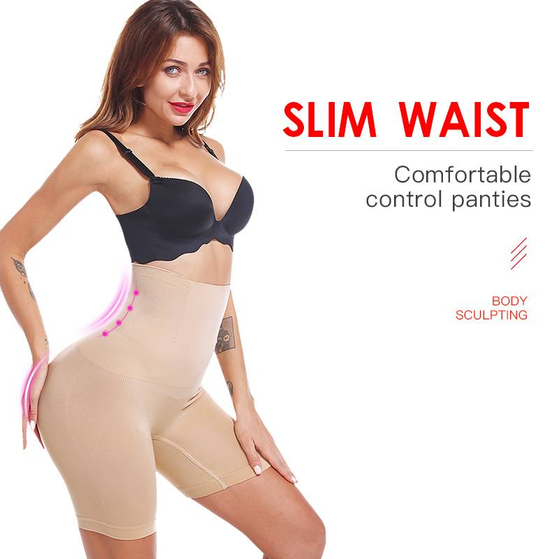 Women's Elastic Body Shaper Body Shapers Intimates Women's Clothing & Accessories Color : Skin|Black