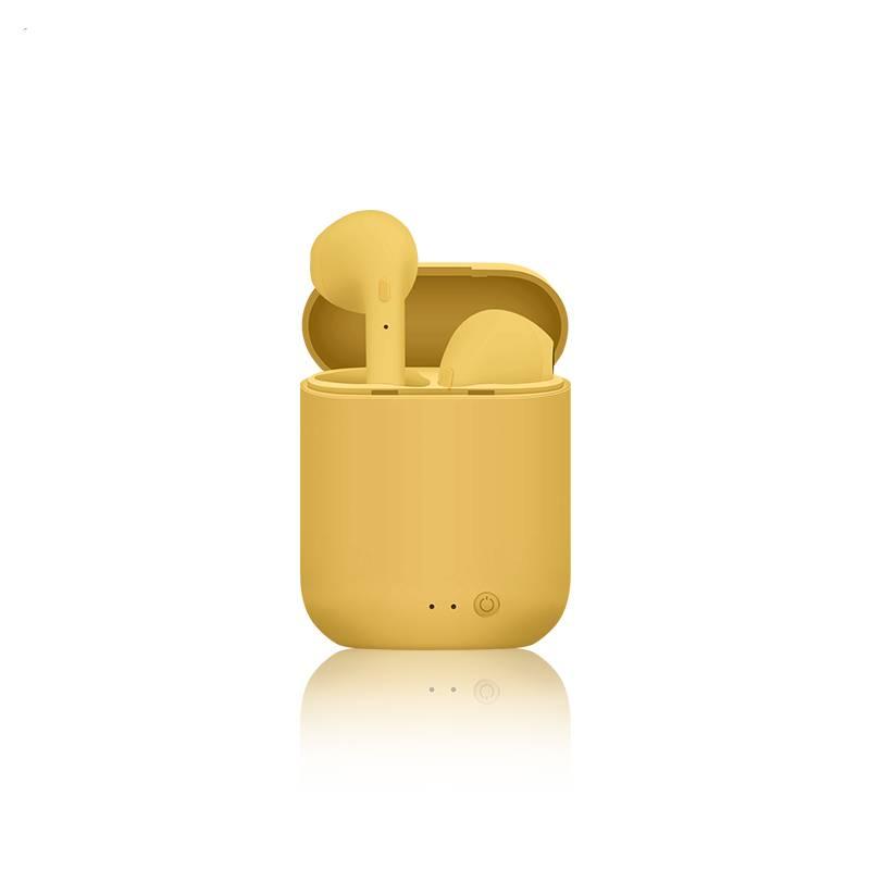 Multicolored Mini Wireless Earphones Consumer Electronics Wireless Earphones & Headphones Color: Yellow