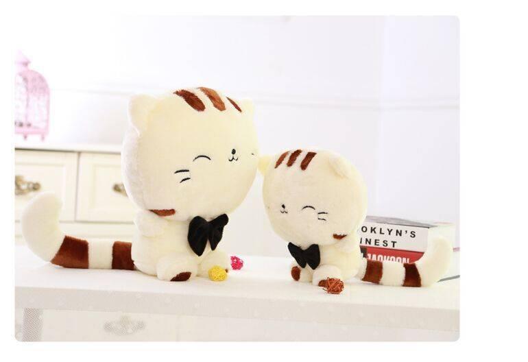 Cute Cat Shaped Plush Toy