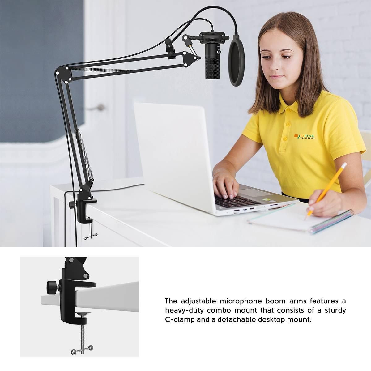 Studio USB Computer Microphone Kit