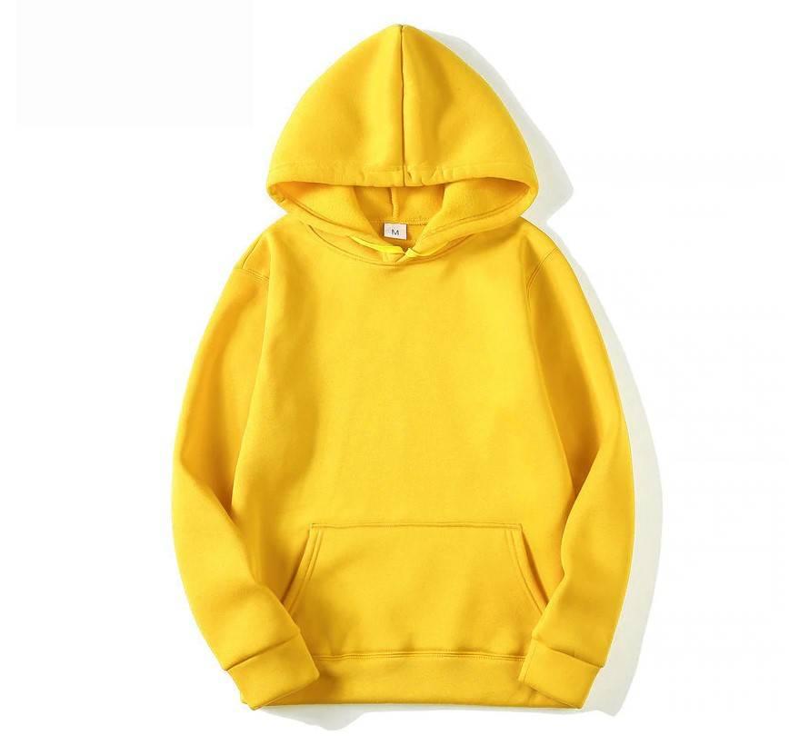Men's Solid Color Hoodie