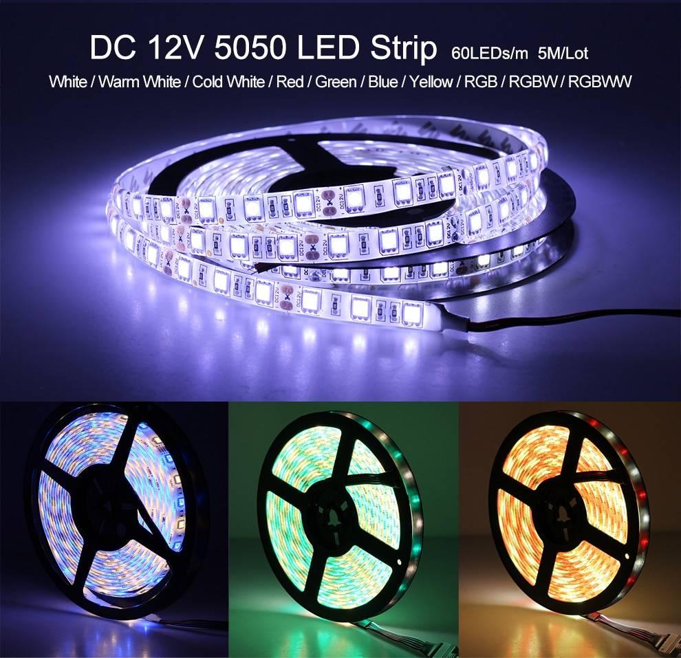Flexible RGB RGBW LED Strip