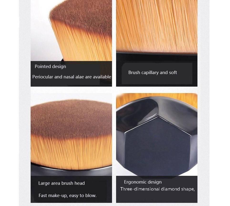Round Makeup Brush