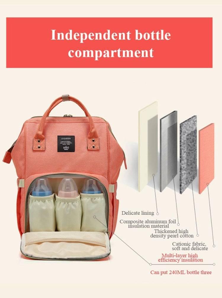 Large Capacity Maternity Backpack