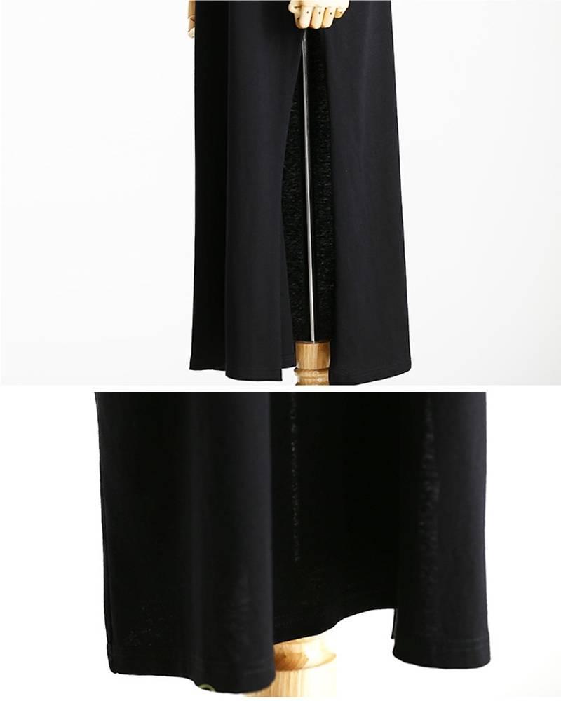 Women's Long Split Dress