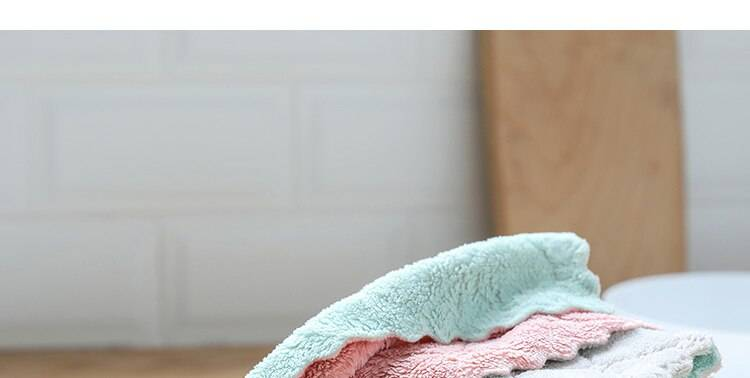 Microfiber Home Cleaning Cloths Set