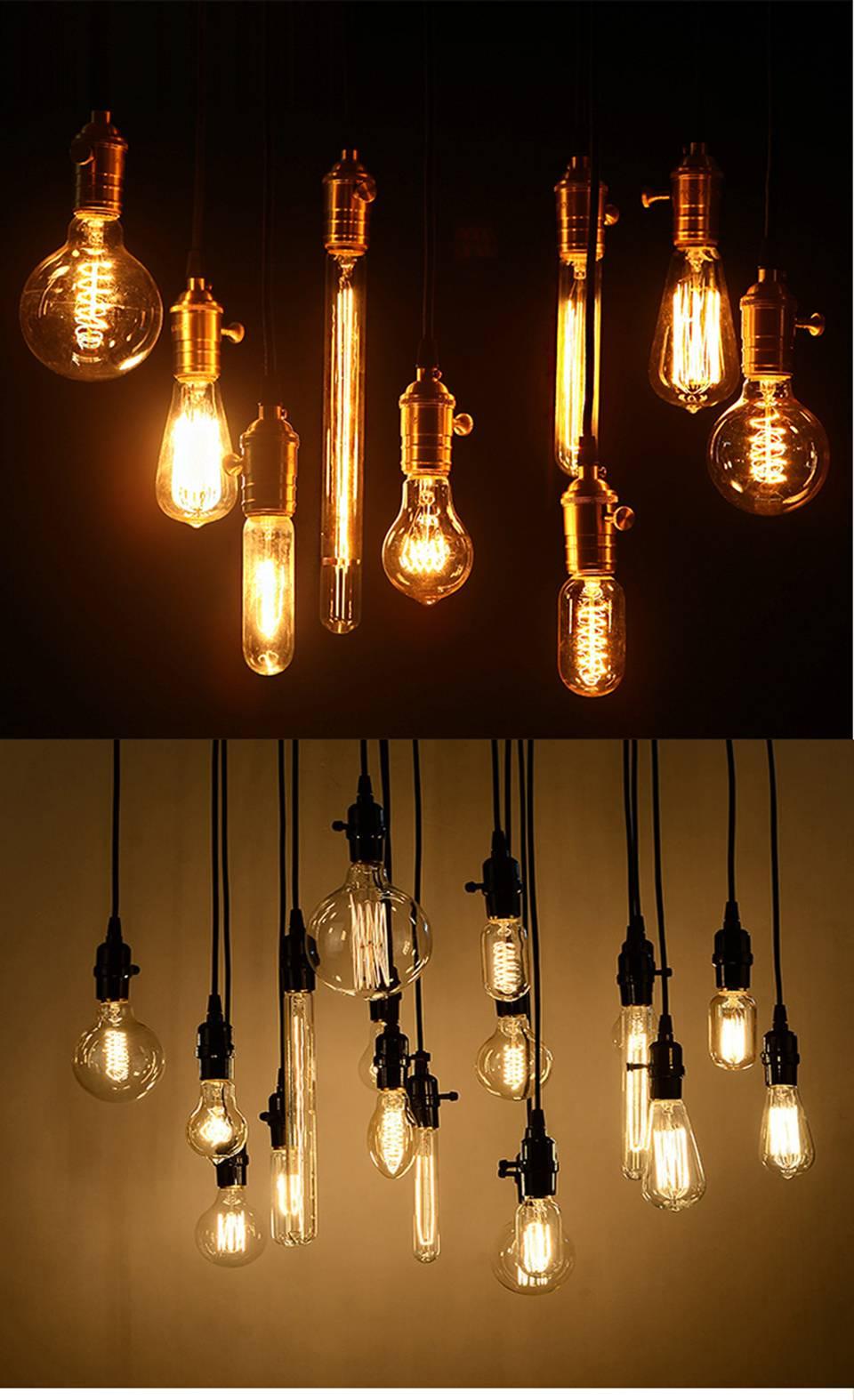 Retro Style E27 Incandescent Bulb