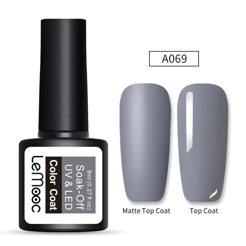 Soak-Off Matte Top Coat UV Nail Gel