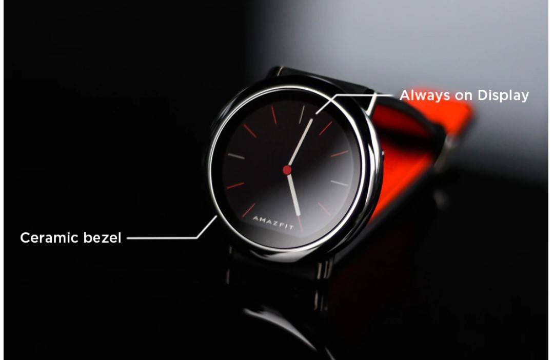 Two Tone Silicone Strap Smart Watch