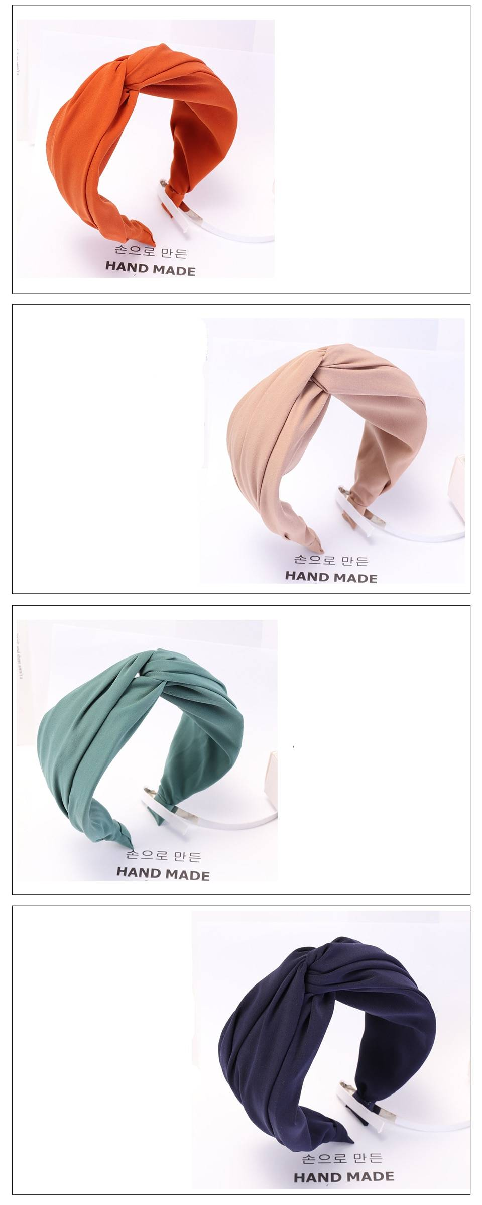 Women's Solid Color Turban