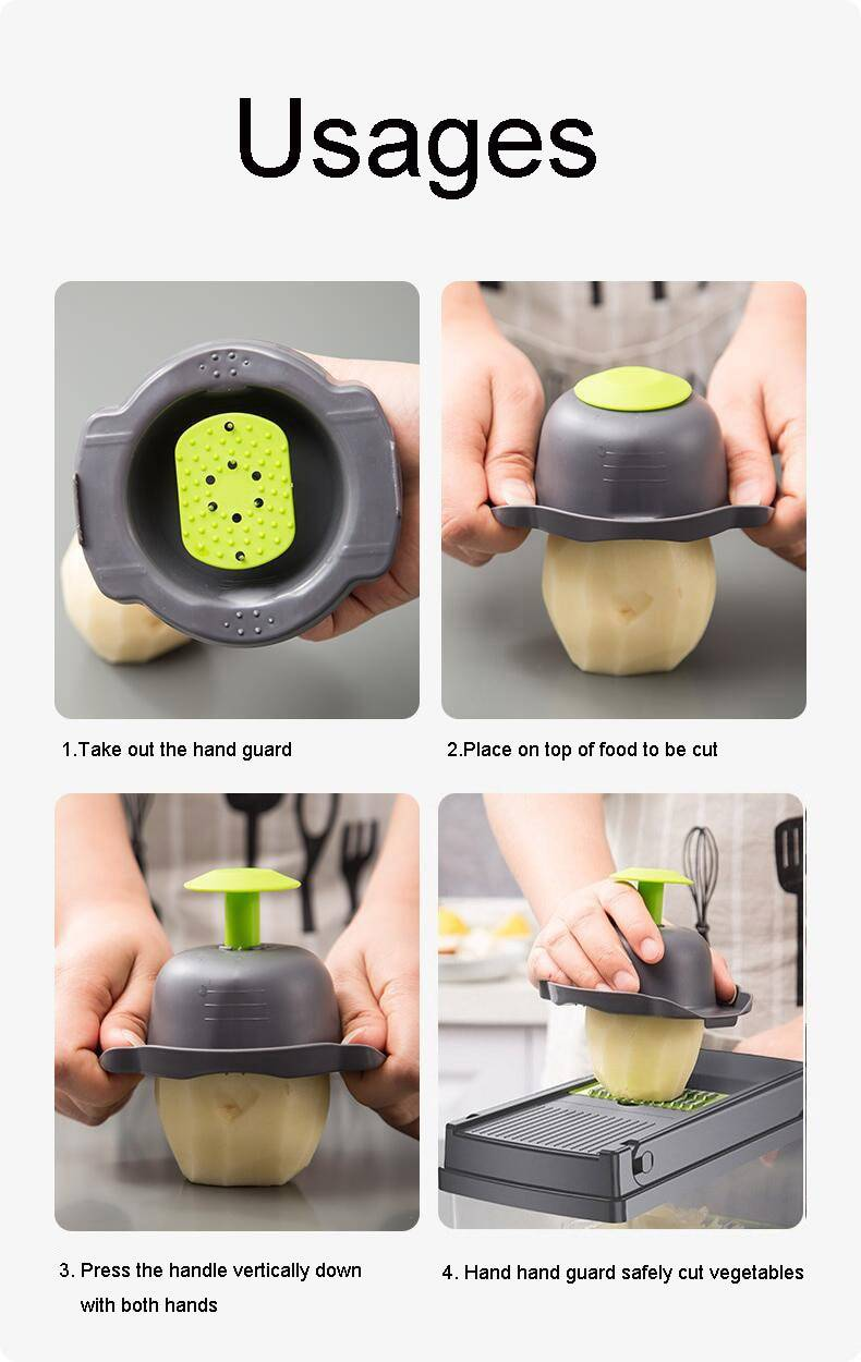 Multifunctional Vegetable and Fruit Slicer