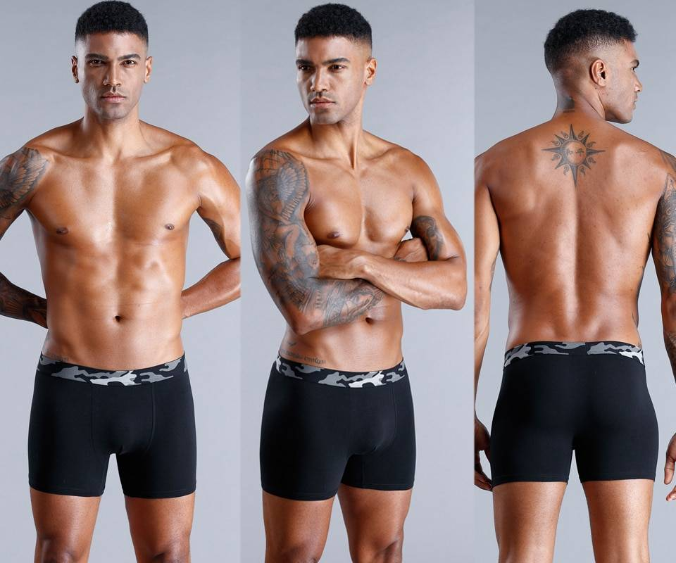 Men's Cotton Breathable Underpants