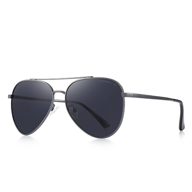 Men's Polarized Classic Pilot Sunglasses