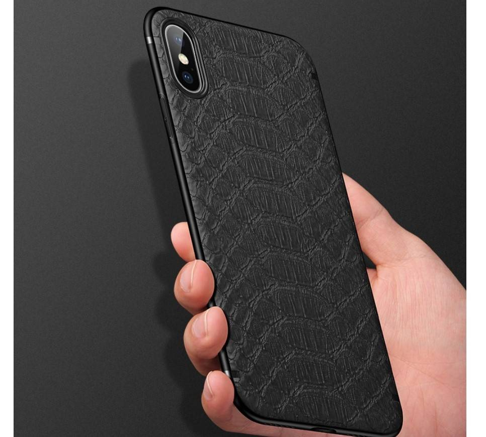 Crocodile Leather Style Case for iPhone