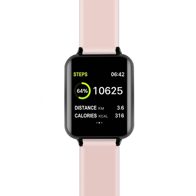 Men's Waterproof Smart Watch Smart Electronics Smart Watches Color : White|Black|Blue|Pink|Black ADD 1 White Strap|Blue|Black Touchable|Pink|Blue Touchable|Pink Touchable