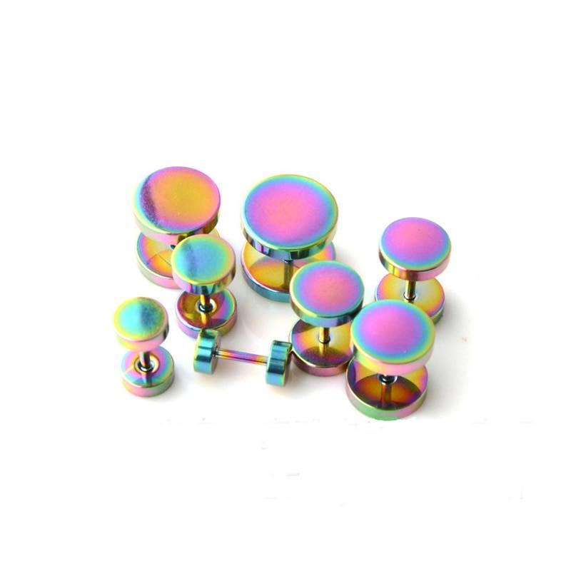 Men's Stainless Steel Multicolored Stud Earrings Earrings Men Jewelry Size : 3 mm / 0.11 inch|4 mm / 0.17 inch|5 mm / 0.2 inch|6 mm / 0.24 inch|7 mm / 0.27 inch|8 mm / 0.31 inch|9 mm / 0.35 inch|10 mm / 0.4 inch|12 mm / 0.47 inch|14 mm / 0.55 inch|16 mm / 0.62 inch