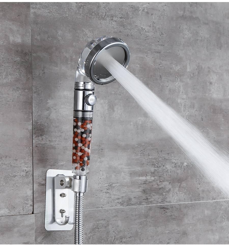 3-Mode Water Saving Shower Head