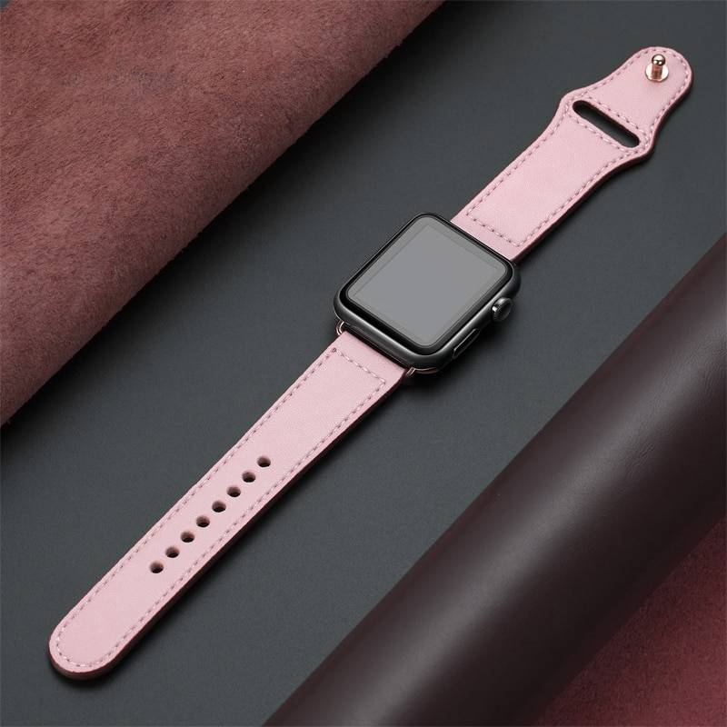Fashion Leather Band for Apple Watch Smart Accessories Smart Electronics Ships From : China|United States|France