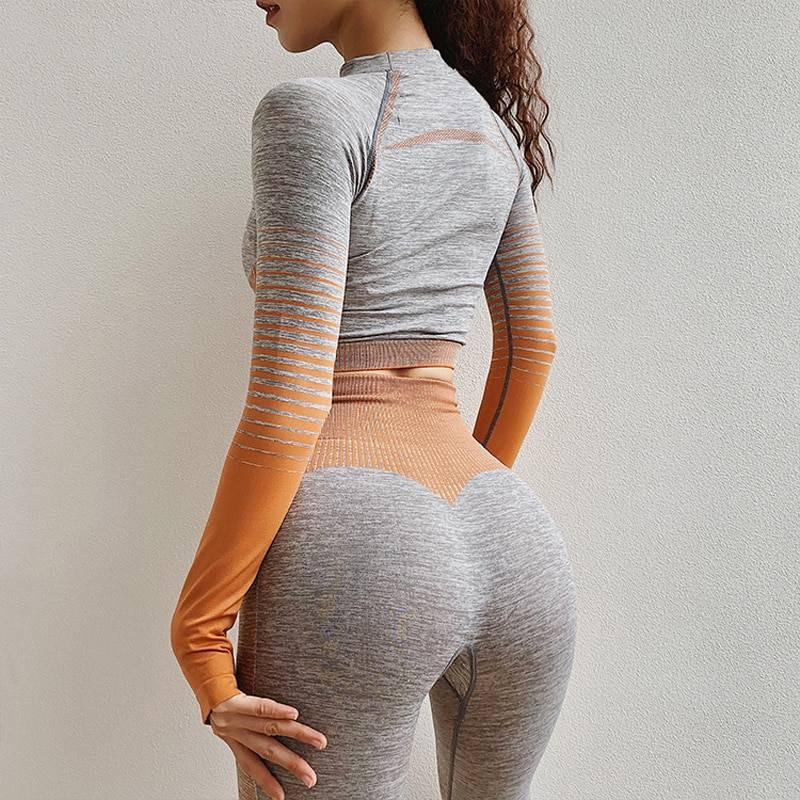 Women's Seamless Yoga Set