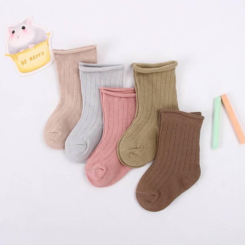 Set of 5 Baby Cotton Socks for Girls Baby & Kid's Clothing & Accessories Baby Girls Clothing Socks & Tights Color: girls Kid Size: 0-1years|1-3years|3-5years|5-7years|7-9years