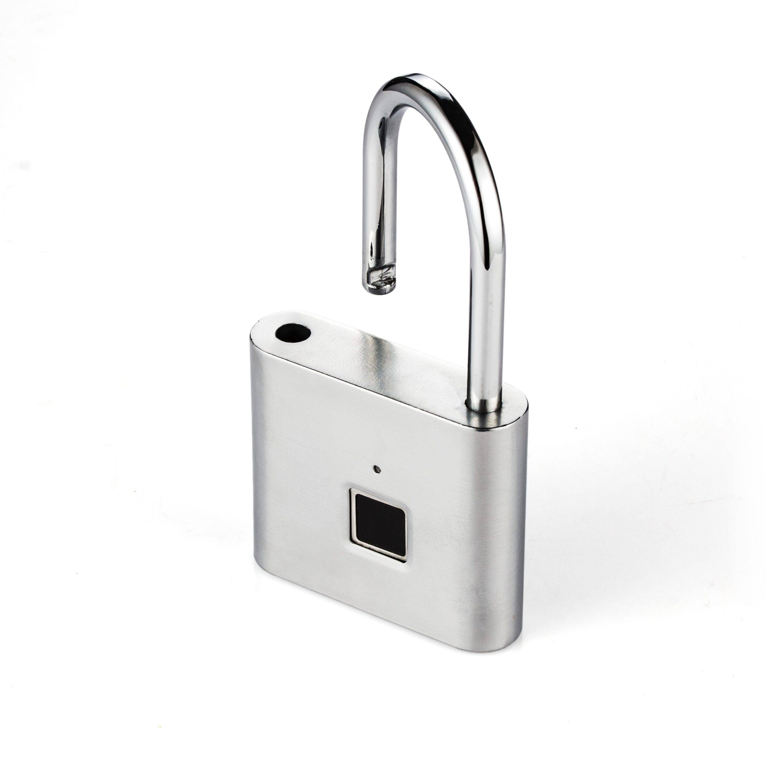 Compact Rechargeable Fingerprint Padlock Consumer Electronics Home Electronics Home Security Ships From : China|Russian Federation|Spain