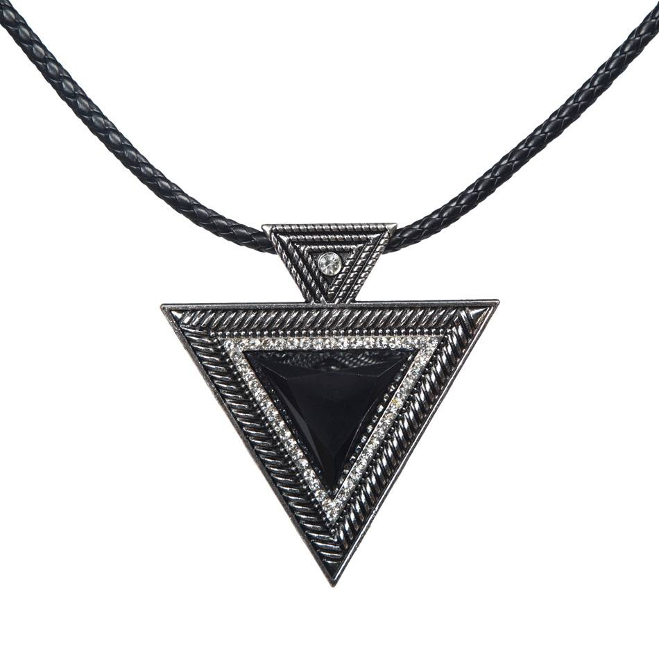 Women's Stylish Geometric Necklace Necklaces Women Jewelry Color : Brown|Black
