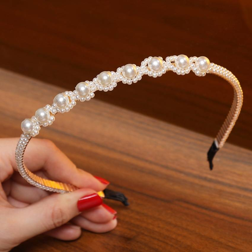 Women's Pearls Hair Accessories