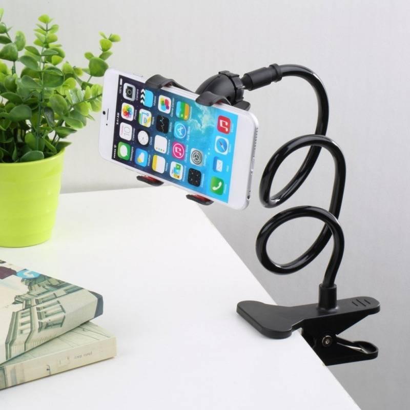 Universal Lazy Mobile Phone Gooseneck Stand Holder