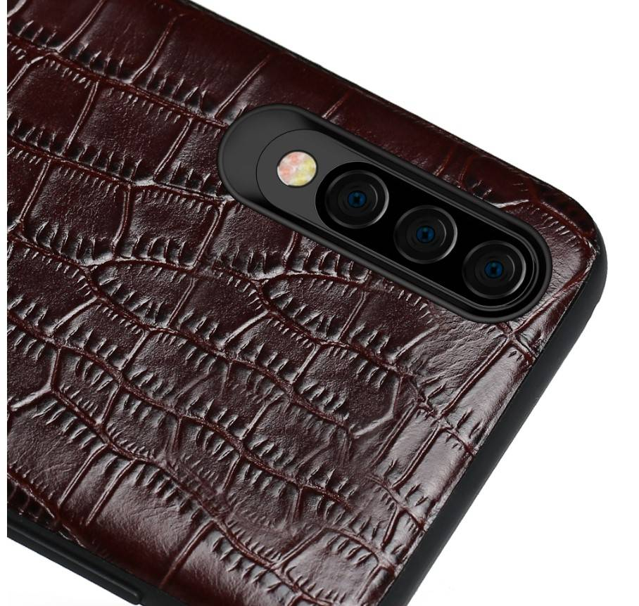 Crocodile Texture Leather Case for Samsung