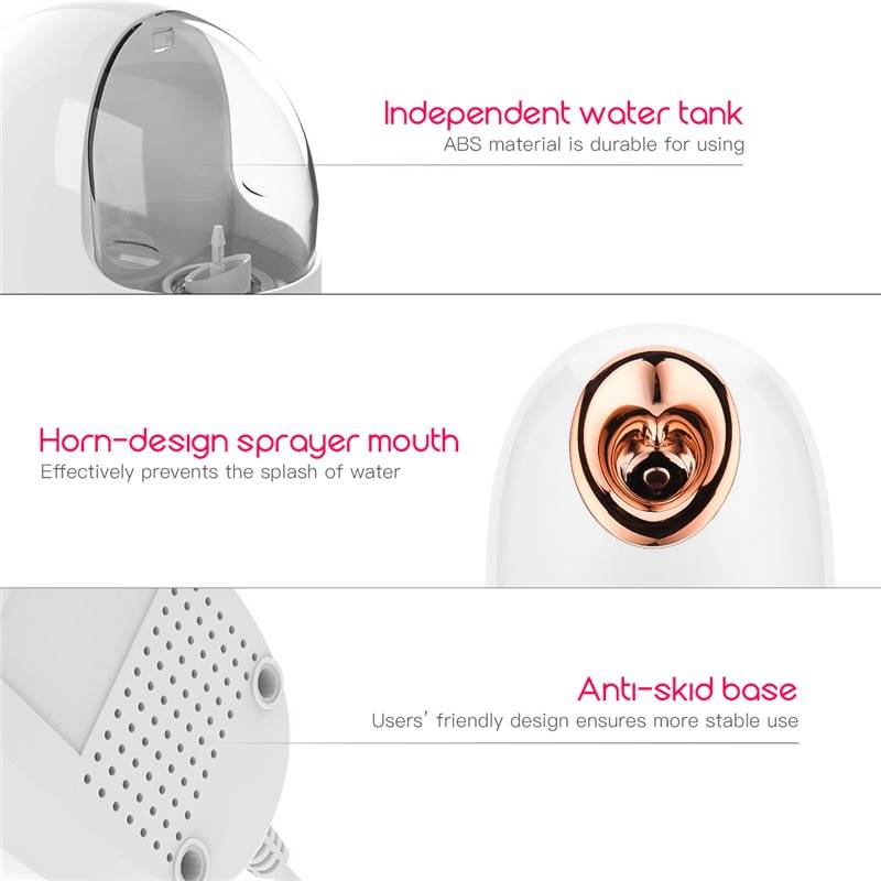 Anti-aging Face Steamer Beauty & Health Health Care Massage & Relaxation Color : white