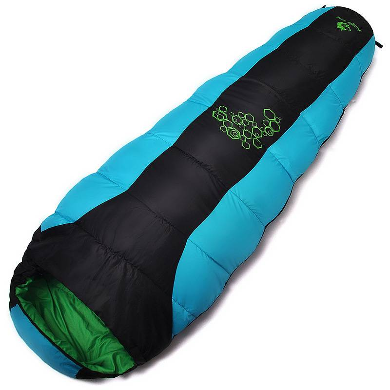 Camping Winter Sleeping Bag Travel & Outdoor Color : Red 1150G|Grey 1150G|Blue 1150G