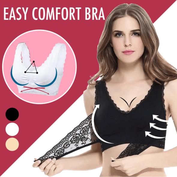 Easy Comfort Bra Apparel Best Sellers Color : BEIGE|BLACK|WHITE|SET OF 3 COLORS (WHITE, BLACK, BEIGE)
