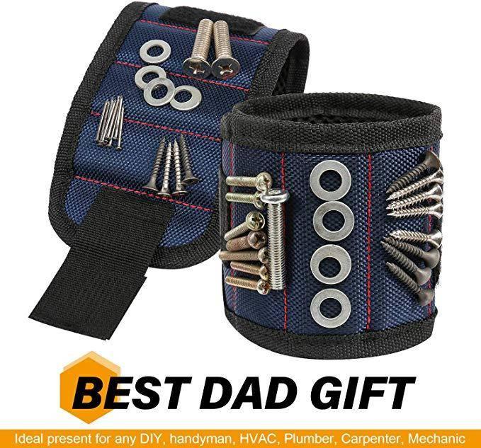 Magnetic Wrist Band Best Sellers Home Goods Color : red dark blue black blue