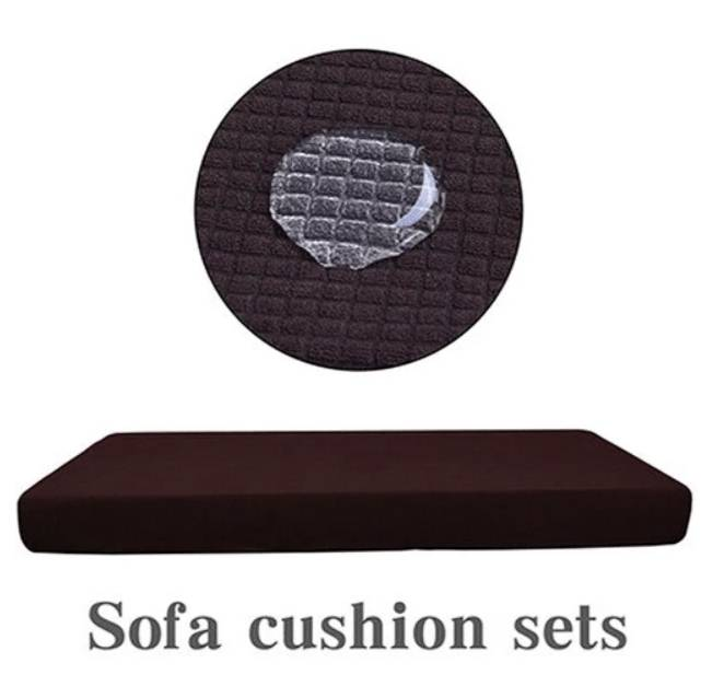 Universal Sofa Cover Elastic Cover Home Goods Color : White Black Gray Navy Light Green Purple Sky Blue Red Rose Brown Green Khaki Wine Red Ivory