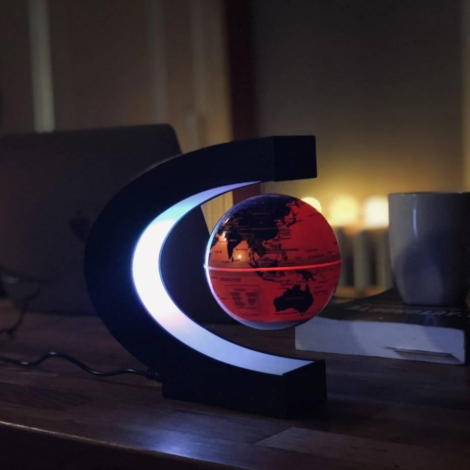 Magnetic Levitating Globe Astrolight Home Goods Color : Yellow|Blue|Black