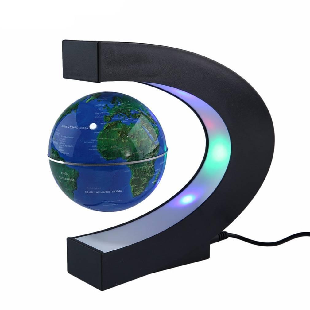 Magnetic Levitating Globe Astrolight Home Goods Color: Blue Type: US Plug|EU Plug