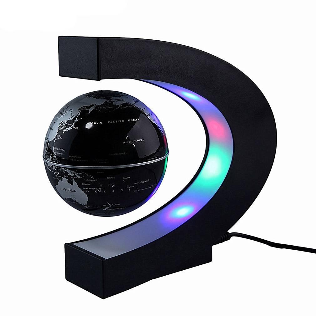 Magnetic Levitating Globe Astrolight Home Goods Color: Black Type: US Plug|EU Plug