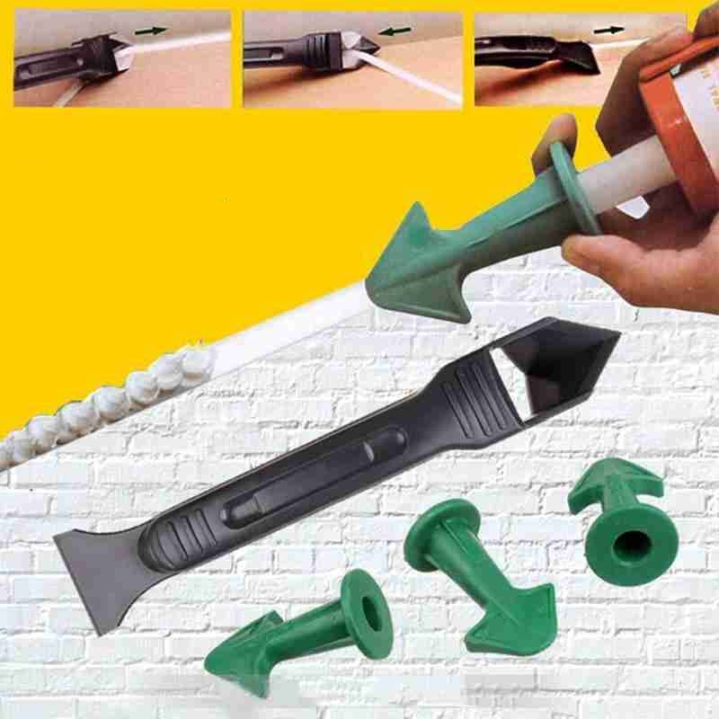 Silicone Caulking Finisher (3 in 1) Home Goods Size : 1 Set (10% OFF) 3 Sets (15% OFF) 5 Sets (20% OFF)