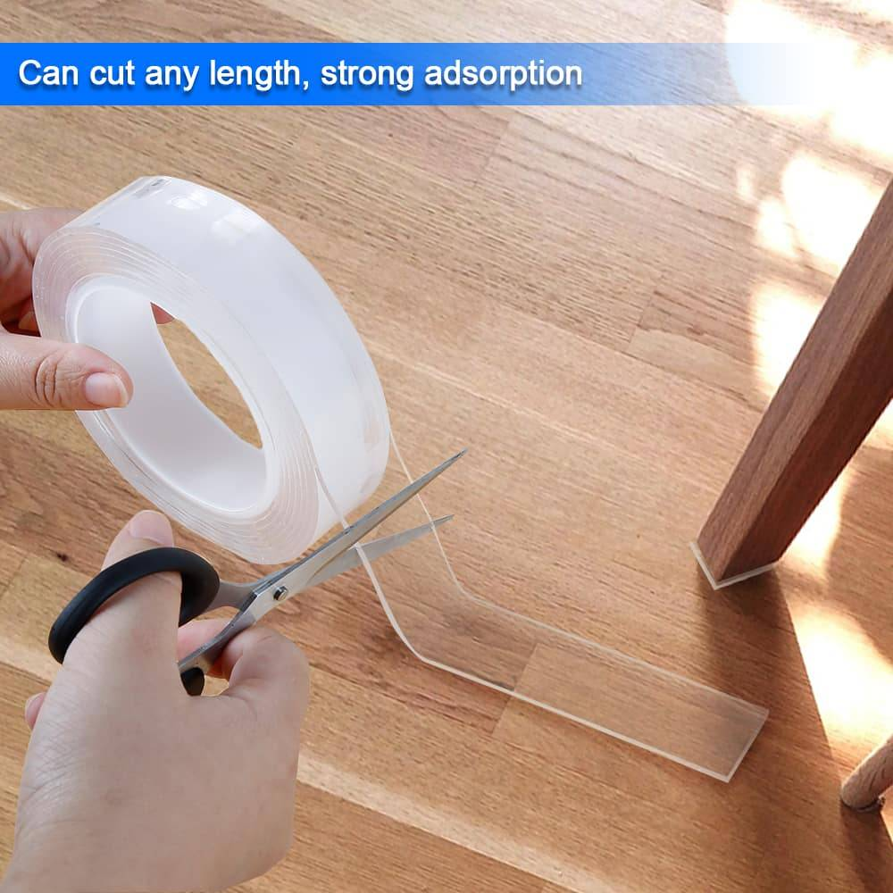 Adhesive Double-Sided Traceless Nano Tape Home Goods Width : 30 mm
