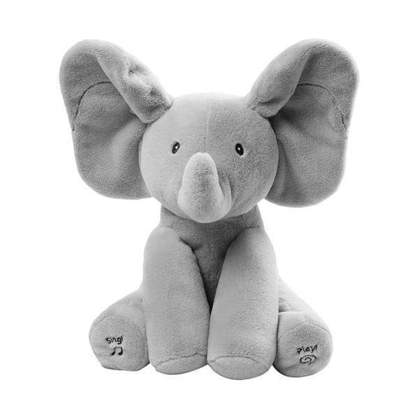 Peek-A-Boo Elephant Toy Best Sellers Toys Color: Gray