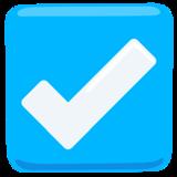 Check Box With Check on Messenger 1.0