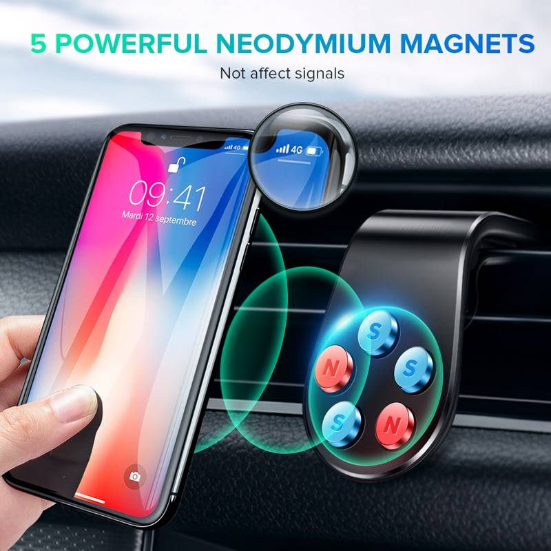 Magnetic Car Phone Holder Accessories Apparel Backpacks & Bags Best Sellers Consumer Electronics Home Goods Jewelry Phone Accessories Toys Travel & Outdoor Vehicles & Parts Color : Black|Silver
