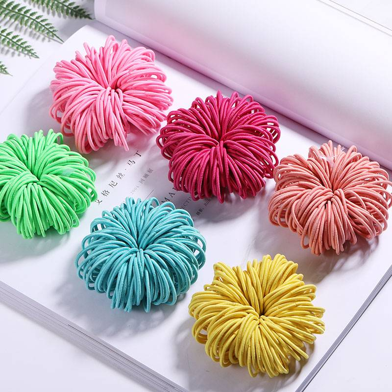 Elastic Nylon Hairbands 100 pcs Set Accessories Apparel Backpacks & Bags Best Sellers Consumer Electronics Home Goods Jewelry Phone Accessories Toys Travel & Outdoor Vehicles & Parts Color : Colorful|Black|Colorful|Red|Sky Blue|Yellow|Pink|Lavender|Orange|Colorful|Light Green|Rose Red|Navy Blue