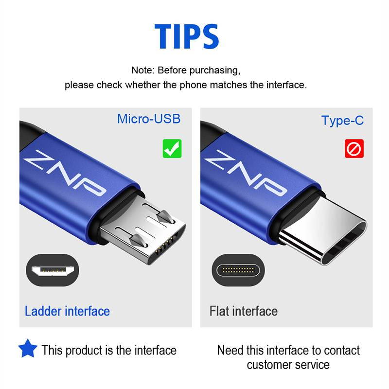 Fast Charging Micro USB Cable Accessories Best Sellers Ships From : China